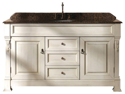 Transitional Bathroom Vanities And Sink Consoles by Thos. Baker