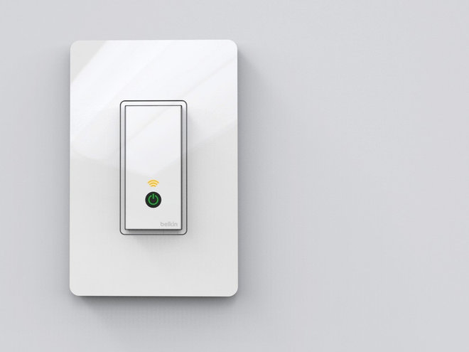 The WeMo Light Switch