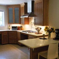Contemporary Kitchen by Laura Rodman Designs