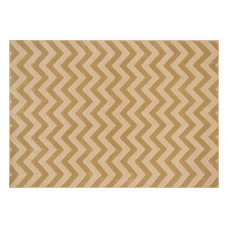 """Loloi Rugs - Loloi Rugs Shelton Collection - Beige / Ivory, 5'-3"""" x 7'-7"""" - Power-loomed in Turkey of durable polypropylene, Shelton's vivid, graphic designs spotlight_dramatic zigzag chevrons, elegant ironwork and Moroccan tile motifs in a palette that is_pleasing for both him and her. Zen-like, earthy hues of rich black, brick, brown, ivory, misty_blue and camel set a surprisingly soothing tone that can help add style to your home and_order to your day._"""