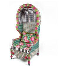 Eclectic Outdoor Lounge Chairs by MacKenzie-Childs