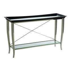 Bassett Mirror Company - Bassett Mirror T2608-400 Thaxton Console Table - Rectangular Swedge Leg Console Table belongs to Thaxton Collection by Bassett Mirror Company Bassett Mirror is fluent in this art, showing a terrific contemporary furniture that will satisfy on the one hand fans of home coziness, and on the other hand - seekers of non-standard design solutions also. One of the many strengths of the Bassett Mirror is using high quality materials for perfect embodiment of brilliant design ideas. Console Table (1)