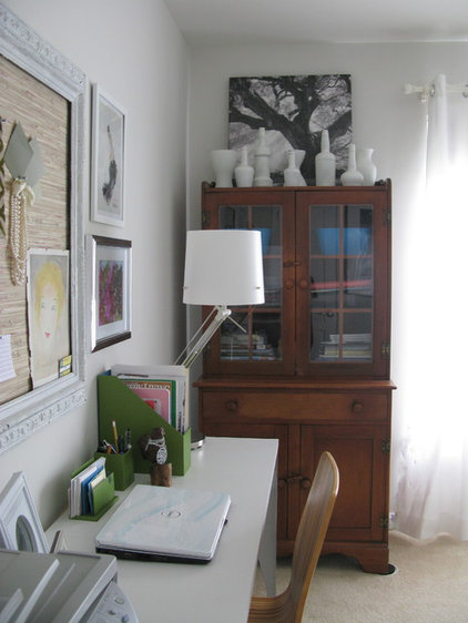 contemporary home office by Shoshana Gosselin