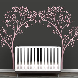 Littlelion Studio Blossom Tree Canopy Portal Wall Decal - Littlelion Studio Blossom Tree Canopy Portal Wall Decal