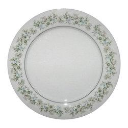 Noritake - Noritake Savannah ( Rim  Platinum) Salad Plate - Noritake Savannah ( Rim  Platinum) Salad Plate