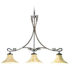 Traditional Kitchen Lighting And Cabinet Lighting by Candelabra