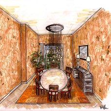 Contemporary  by Garrison Hullinger Interior Design Inc.