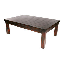 Hard Wood Coffee Table - Modern Lodge Collection