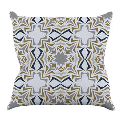 "Kess InHouse - Miranda Mol ""Ice Stars"" Throw Pillow (18"" x 18"") - Rest among the art you love. Transform your hang out room into a hip gallery, that's also comfortable. With this pillow you can create an environment that reflects your unique style. It's amazing what a throw pillow can do to complete a room. (Kess InHouse is not responsible for pillow fighting that may occur as the result of creative stimulation)."