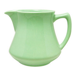 Pitcher - Jade - Every table needs some color, and for me this jade pitcher is perfection.