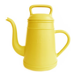 XALA - XALA Lungo Watering Can, Yellow - Raising the old fashioned coffee pot to the status of modern cult houseware, Davy Groseman's design for Belgian label XALA reinterprets the classic shape as a quirky, oversized version in a vibrant range of colors.