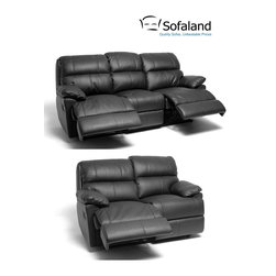 Leather Sofa -