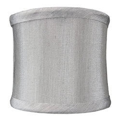Home Concept - Crisp Linen Clip-On Sconce Shell Shade 4x4x4.25 - Celebrate Your Home - Home Concept invites you to welcome your guests with our array of lampshade styles that will instantly upgrade your space