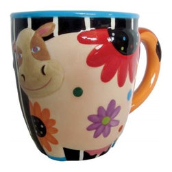 Westland - Multi-Colored Grazing Cozy Cow Covered in Flowers 12 Oz Coffee Mug - This gorgeous Multi-Colored Grazing Cozy Cow Covered in Flowers 12 Oz Coffee Mug has the finest details and highest quality you will find anywhere! Multi-Colored Grazing Cozy Cow Covered in Flowers 12 Oz Coffee Mug is truly remarkable.