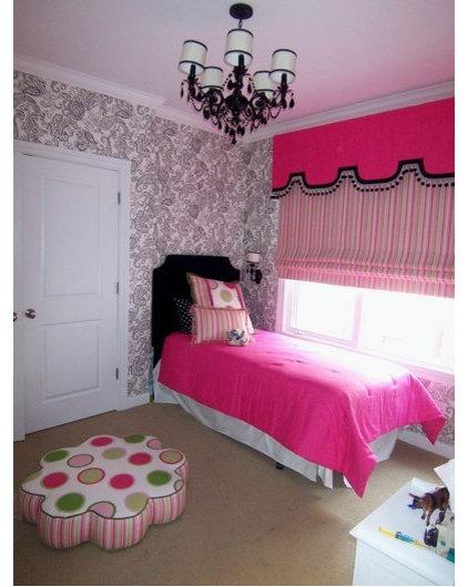 Bedroom Girls Transitional Style Bedroom