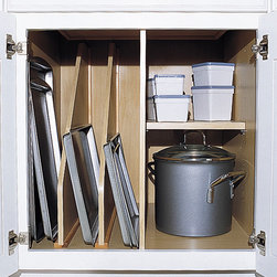 Kitchen Cabinet Accessories - Tray Dividers, Partation and Fixed Shelf