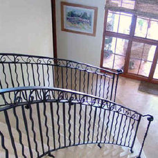 Free Download Decorative Wrought Iron Railings Spiral Staircase