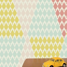Contemporary Wallpaper by Studio Rita