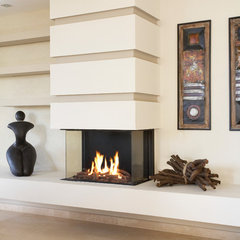 contemporary fireplaces by Ortal USA