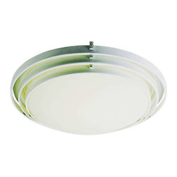 Trans Globe Lighting - Trans Globe Lighting 2484 WH Flushmount In White - Part Number: 2484 WH