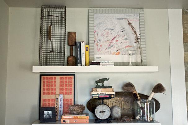Industrial Living Room by Rebekah Zaveloff | KitchenLab