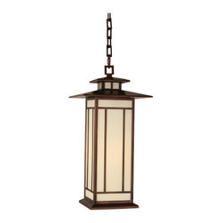 Robert Abbey - Robert Abbey Candler Large Outdoor Pendant CP541 - Antique Copper Finish over Brass