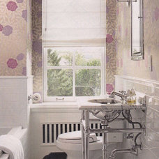 Eclectic  Anna's bathroom