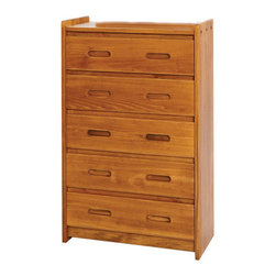Chelsea Home Furniture - Chelsea Home 5-Drawer Chest in Honey - Providing home elegance in upholstery products such as recliners, stationary upholstery, leather, and accent furniture including chairs, chaises, and benches is the most important part of Chelsea Home Furniture's operations. Bringing high quality, classic and traditional designs that remain fresh for generations to customers' homes is no burden, but a love for hospitality and home beauty. The majority of Chelsea Home Furniture's products are made in the USA, while all are sought after throughout the industry and will remain a staple in home furnishings.