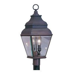 Livex Lighting - Livex Lighting 2592-07 Outdoor Lighting/Post Light - Livex Lighting 2592-07 Outdoor Lighting/Post Light