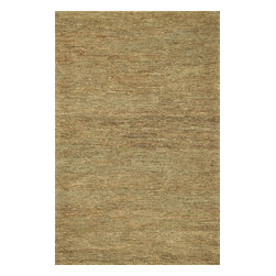 """Loloi Rugs - Hand Woven Turin Too Transitional Rug TURTTT-01SL00 - 3'-6"""" x 5'-6"""" - The Turin Too Collection offers a casual, easy-to-place, all-natural jute product in a reversible weave. The solid, earthy color palette includes beige, earth (greenish hues) and slate (a brownish gray). Turin Too offers a staple line that maintainappeal for years to come."""