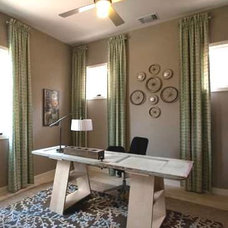 Contemporary Home Office by Count & Castle Designs
