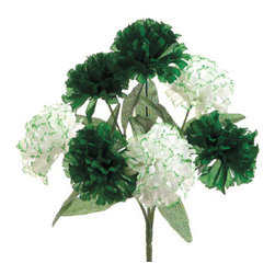 Silk Plants Direct - Silk Plants Direct Carnation Bush (Pack of 24) - Silk Plants Direct specializes in manufacturing, design and supply of the most life-like, premium quality artificial plants, trees, flowers, arrangements, topiaries and containers for home, office and commercial use. Our Carnation Bush includes the following: