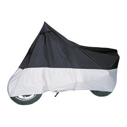 None - Classic Accessories X-Large MG Motorcycle Cover - This X-Large MG Motorcycle Cover fits touring bikes up to 1500cc with a circumference of 250 inches. This cover features non-scratch polyester material in upper panel with heat resistant material in lower panel.