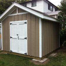 Craftsman Sheds by Backyard Built