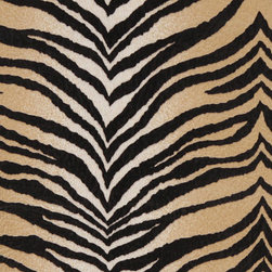 Beige Tiger Print Microfiber Stain Resistant Upholstery Fabric By The Yard - Microfiber fabric is the premier choice for indoor upholstery. This fabric is stain resistant, soft and incredibly durable. Plus it is easy to clean and made in America! Microfiber is excellent for residential, commercial and automotive upholstery.