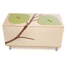 Contemporary Kids Storage Benches And Toy Boxes by Mod Mom Furniture