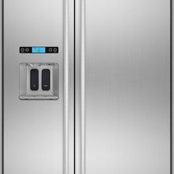 """Jenn-Air 42"""" Built-in Side By Side Refrigerator, Stainless Steel 
