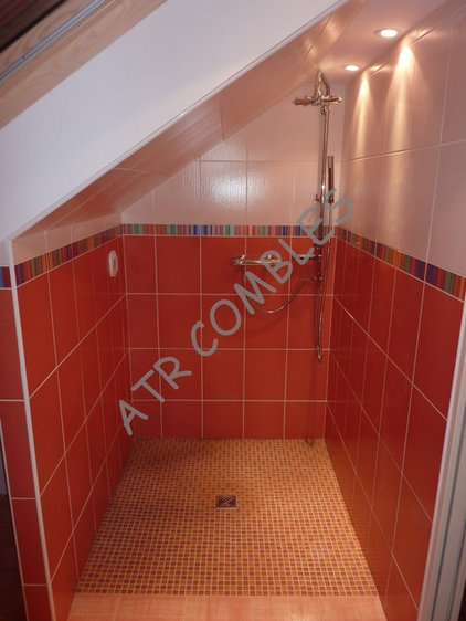 Salle de bain sous combles - Exemple de salle de bains sous comble ...