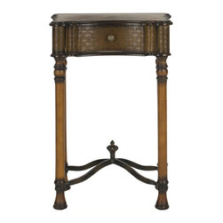 Safavieh - Safavieh Denise Birch Wood Night Table in Brown - Safavieh - Nightstands - AMH4070A - The Denise Night Table is perfect for any room. With its brown colored birch Wood and stylish legs this is a perfect piece of furniture to enhance your homes decor.