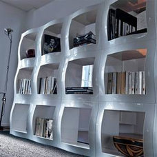 Contemporary Storage Units And Cabinets by homefrenzy