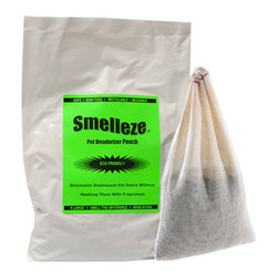 IMTEK | NoOdor - Smelleze Reusable Dog Smell Removal Deodorizer Pouch: X Large Treats 150 Sq. Ft. - Summary