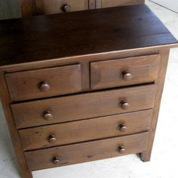 5 Drawer Bedroom Dresser - Made by http://www.ecustomfinishes.com