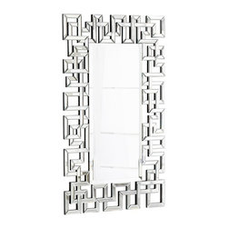 Psara Mirror - This intricate and glamorous mirror would definitely be a conversation starter. It's perfect for the dining room.