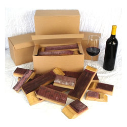Wine Soaked Oak BBQ Staves -