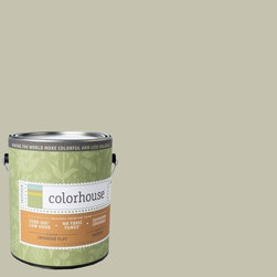 Inspired Flat Interior Paint, Nourish .02, Gallon - Colorhouse paints are zero VOC, low-odor, Green Wise Gold certified and have superior coverage and durability. Our artist-crafted colors are designed to be easy backdrops for living. Colorhouse paints are 100% acrylic with no VOCs (volatile organic compounds), no toxic fumes/HAPs-free, no reproductive toxins, and no chemical solvents.