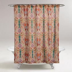 Paisley Venice Shower Curtain -