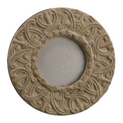 Silk Plants Direct - Silk Plants Direct Cement Round Picture Frame (Pack of 6) - Pack of 6. Silk Plants Direct specializes in manufacturing, design and supply of the most life-like, premium quality artificial plants, trees, flowers, arrangements, topiaries and containers for home, office and commercial use. Our Cement Round Picture Frame includes the following: