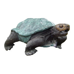 Randolph Rose - Large Tortoise - The Randolph Rose Collection�is a family owned and operated company that specializes in handmade bronze garden sculpture, statues, fountains and accessories for home, garden and public spaces. For Items in stock there is a 2-4 week lead time and for items that are made to order there is a 90-120 day lead time.