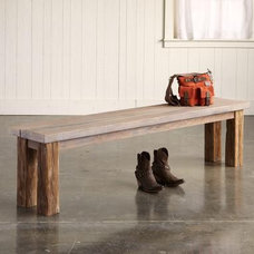Modern Benches by Sundance Catalog