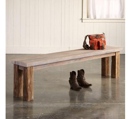 Modern Indoor Benches by Sundance Catalog